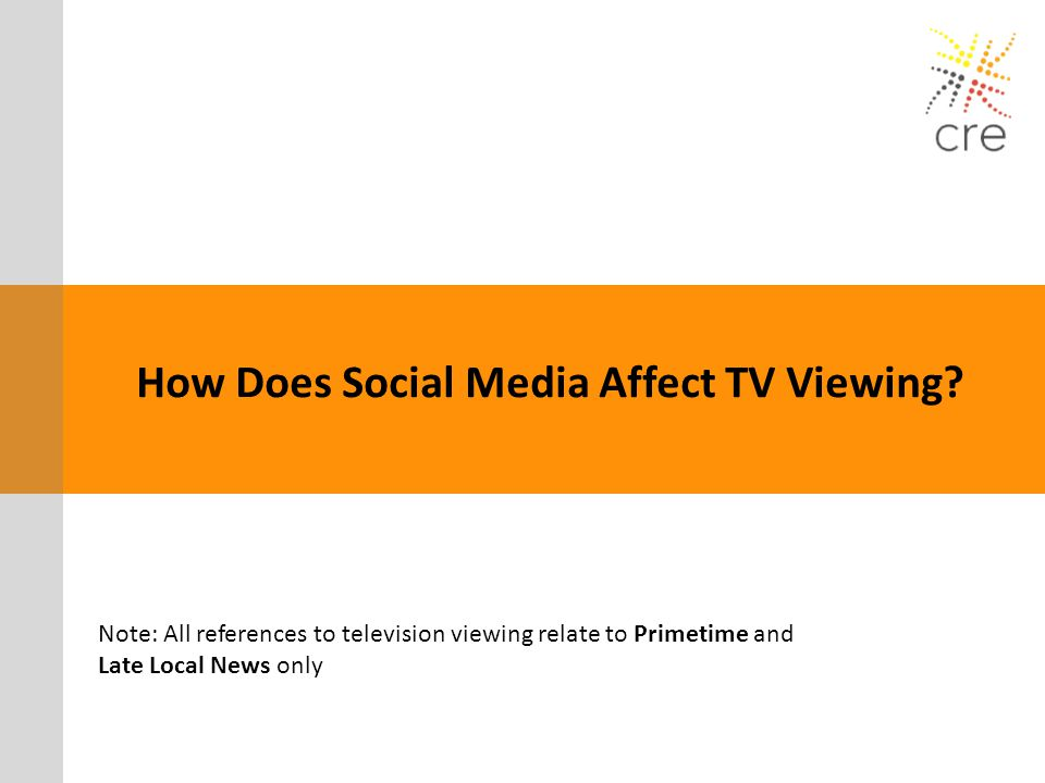 How Does Social Media Affect TV Viewing