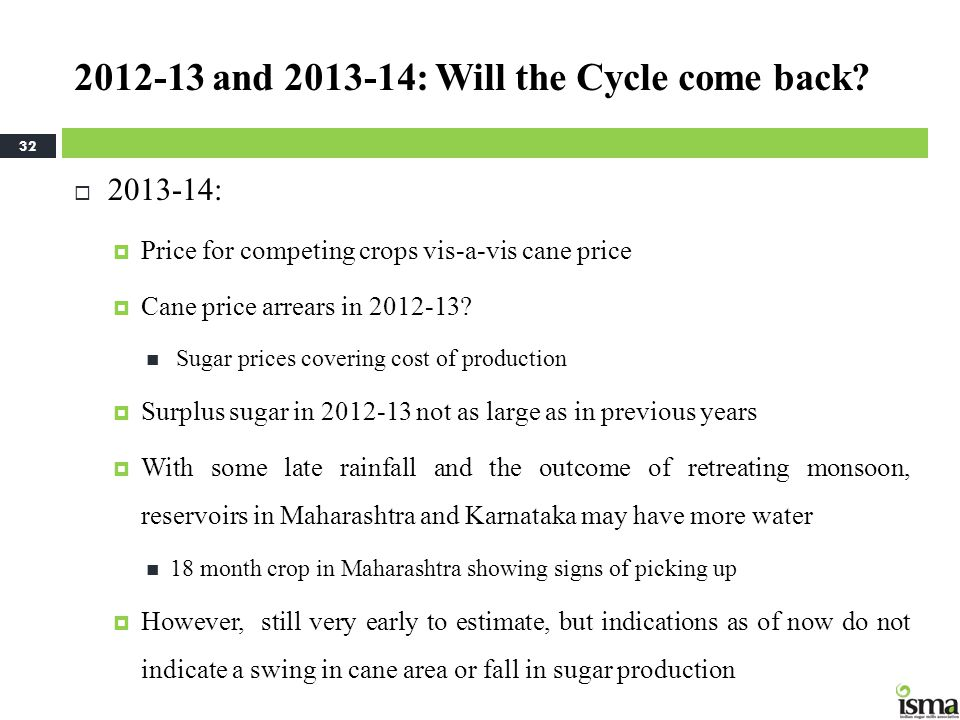 2012-13 and 2013-14: Will the Cycle come back