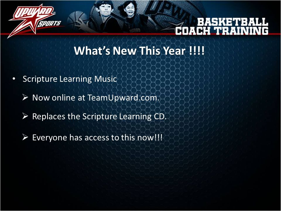 What's New This Year !!!! Scripture Learning Music