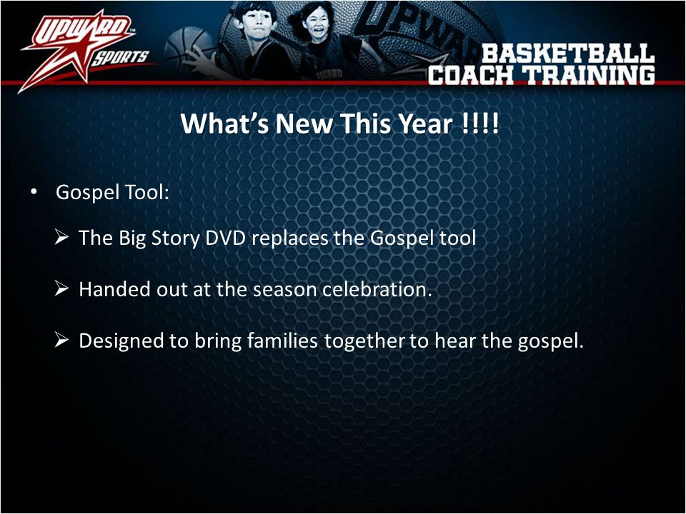 What's New This Year !!!! Gospel Tool: