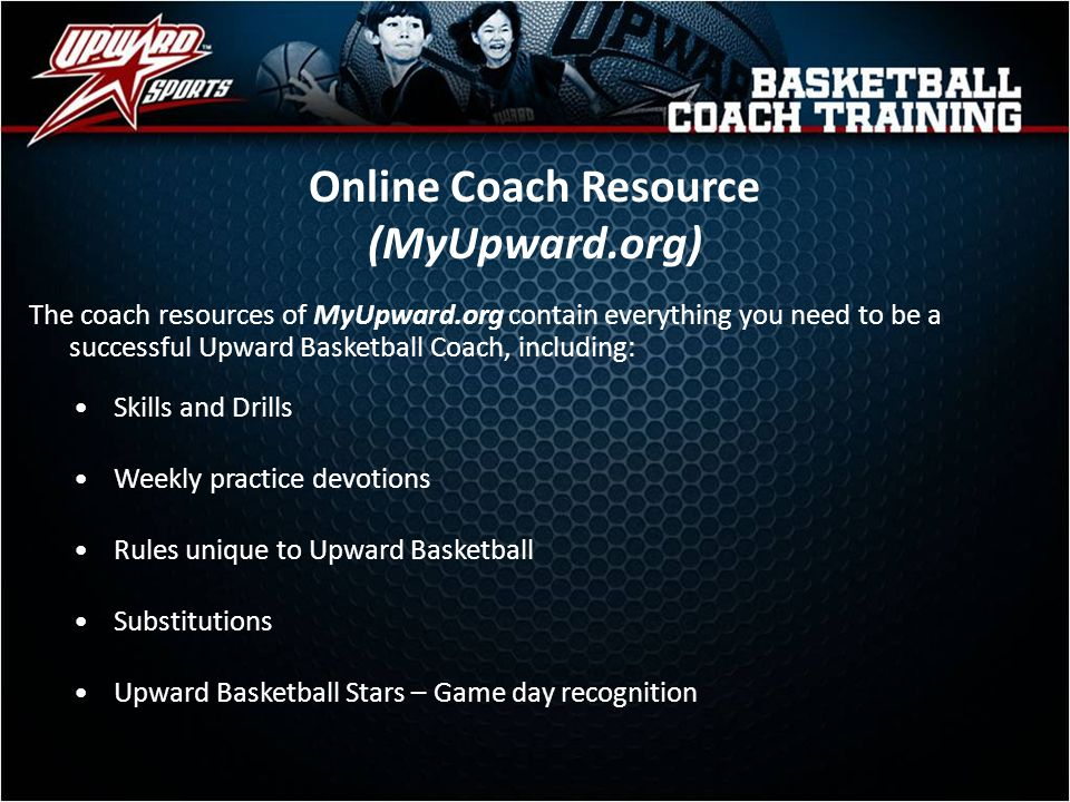 Online Coach Resource (MyUpward.org)
