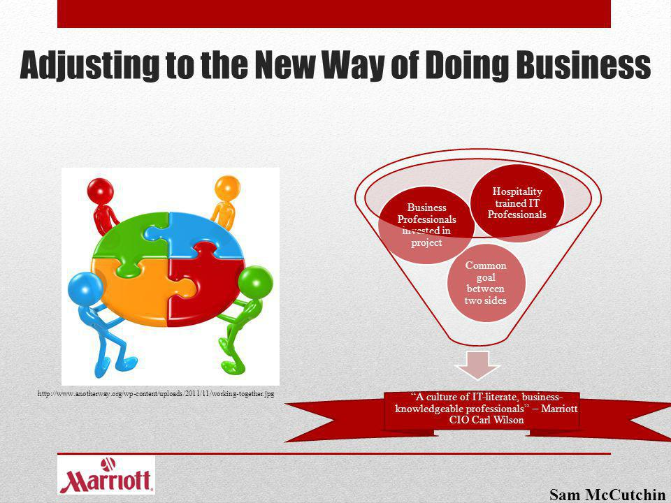 Adjusting to the New Way of Doing Business