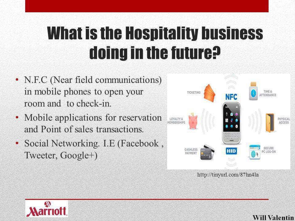 What is the Hospitality business doing in the future