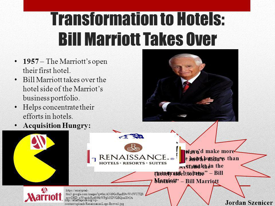 Transformation to Hotels: Bill Marriott Takes Over