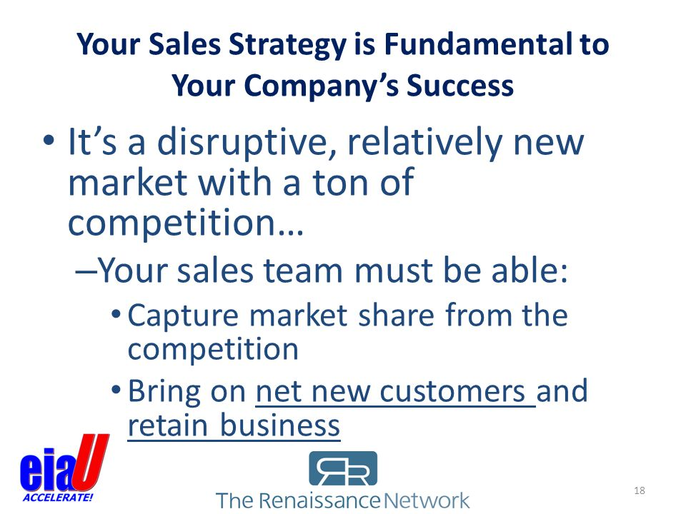 Your Sales Strategy is Fundamental to Your Company's Success