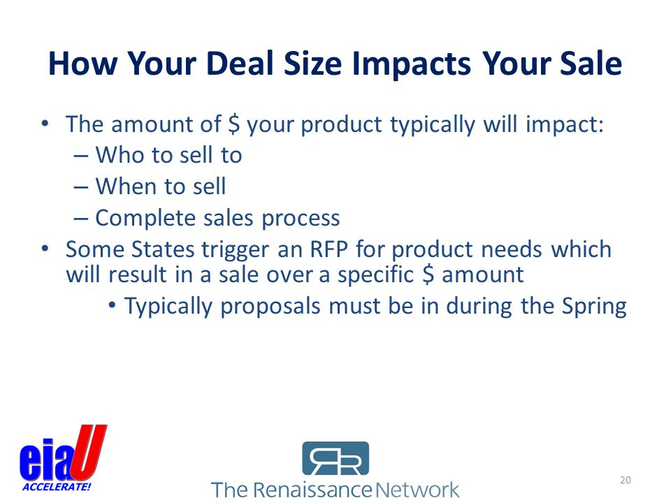 How Your Deal Size Impacts Your Sale