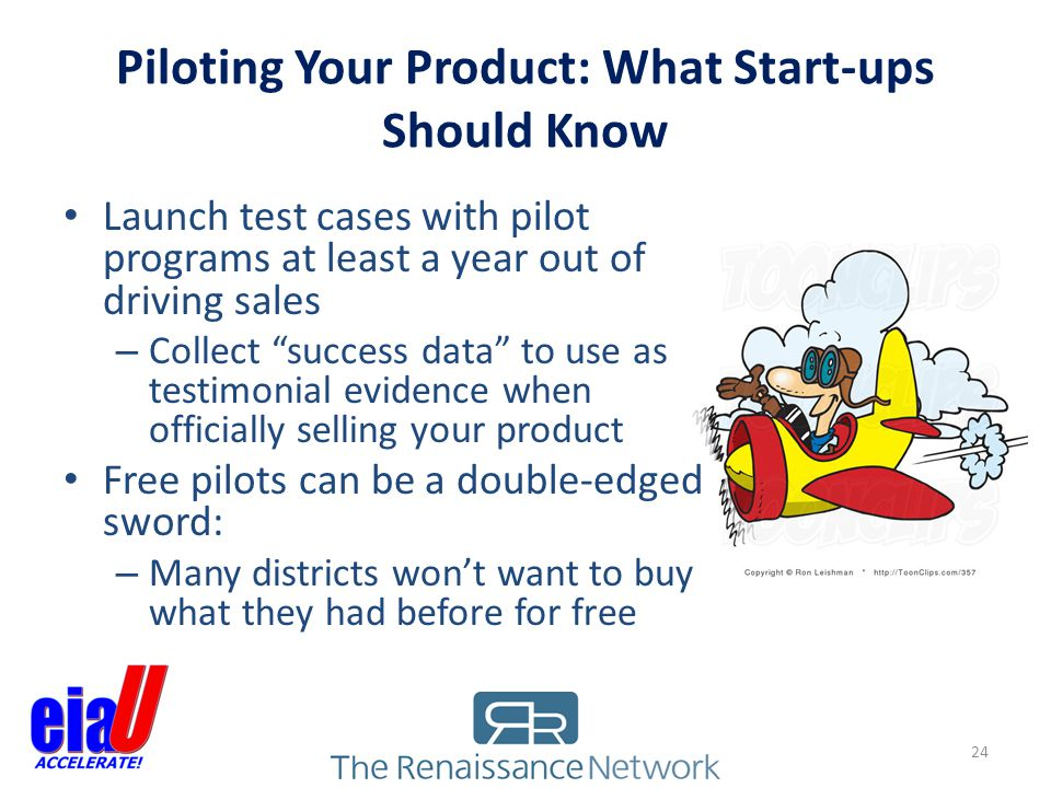 Piloting Your Product: What Start-ups Should Know