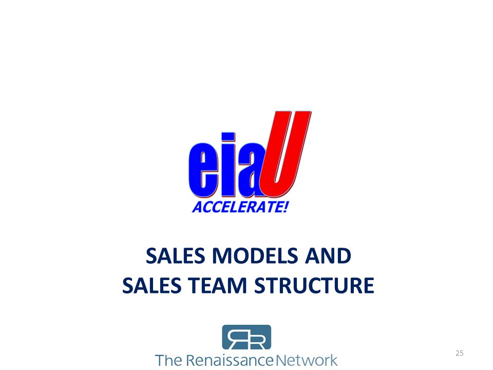 Sales Models and Sales Team Structure