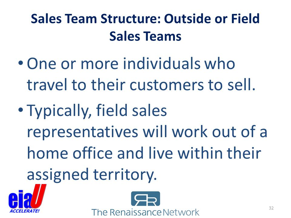 Sales Team Structure: Outside or Field Sales Teams