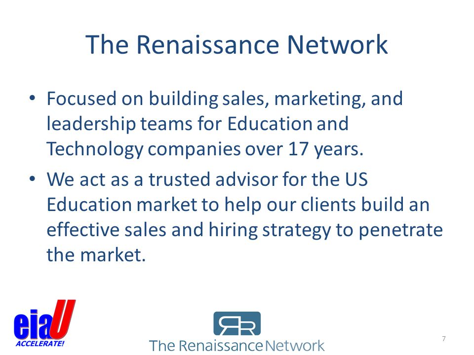 The Renaissance Network
