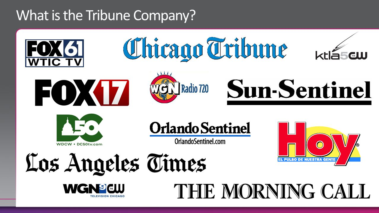 What is the Tribune Company