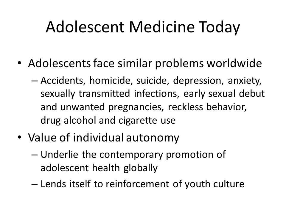 Adolescent Medicine Today