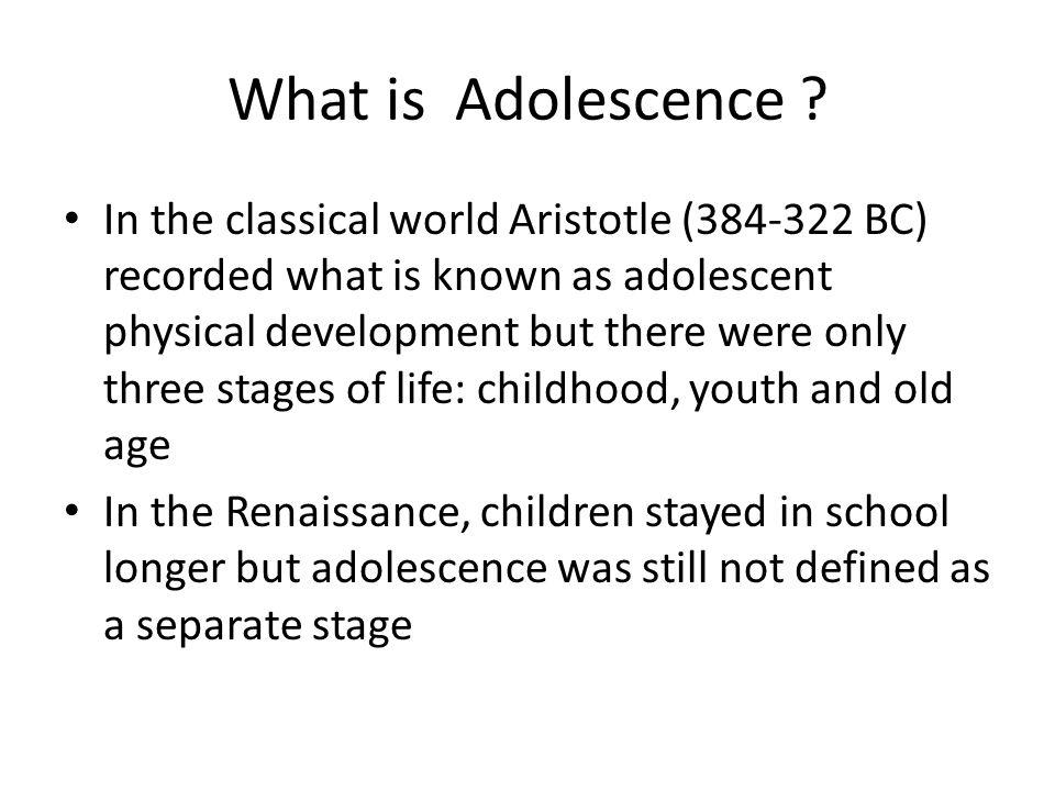 What is Adolescence
