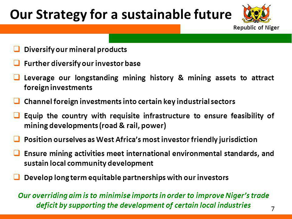 Our Strategy for a sustainable future
