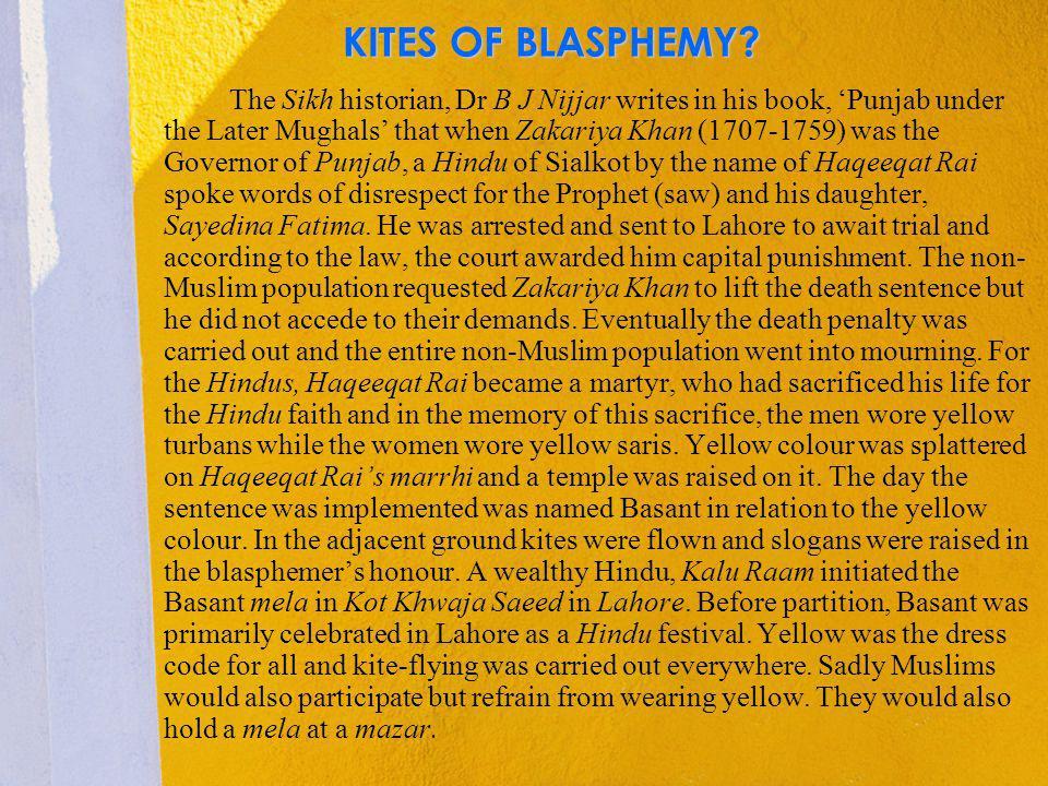 KITES OF BLASPHEMY