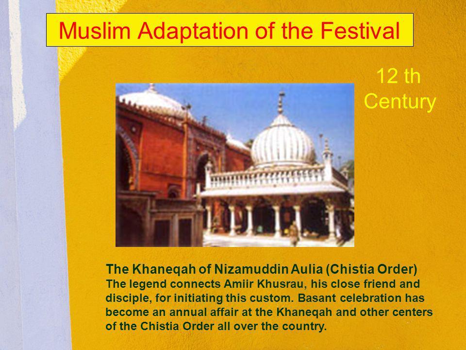 Muslim Adaptation of the Festival