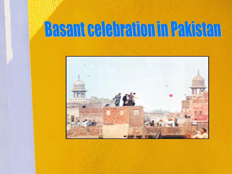 Basant celebration in Pakistan