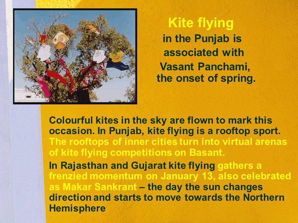 Vasant Panchami, the onset of spring.