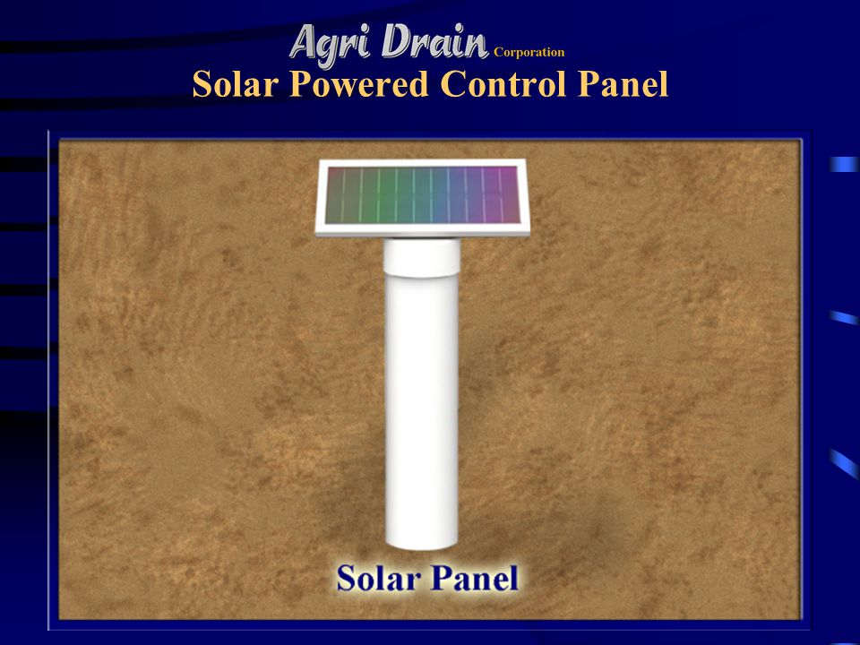 Solar Powered Control Panel