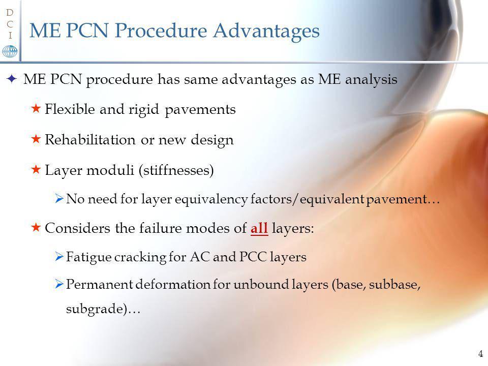ME PCN Procedure Advantages