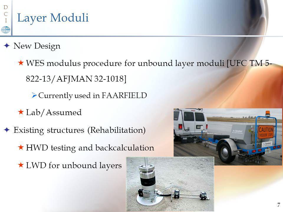 Layer Moduli New Design