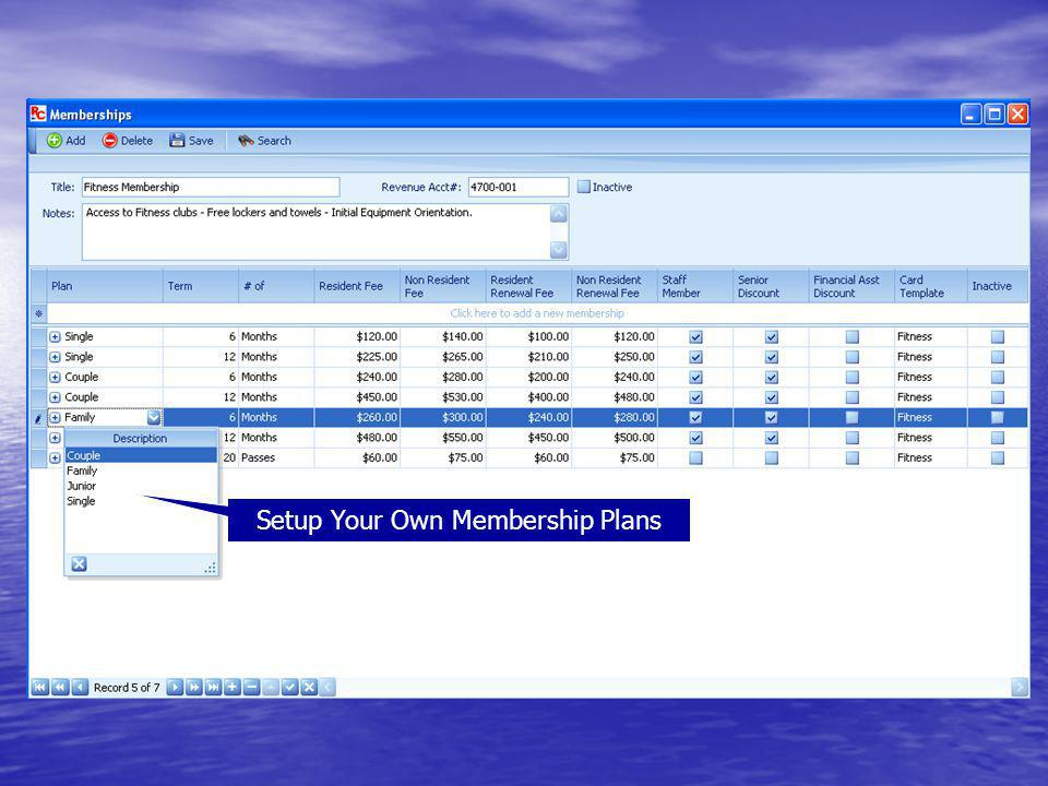 Setup Your Own Membership Plans