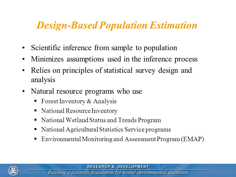 Design-Based Population Estimation