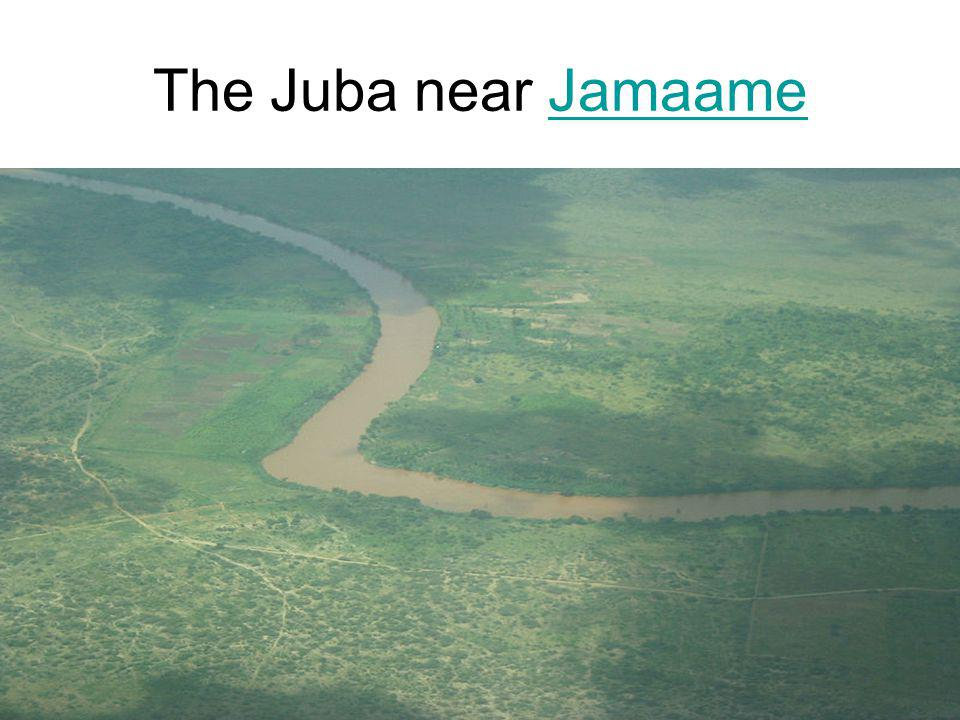 The Juba near Jamaame