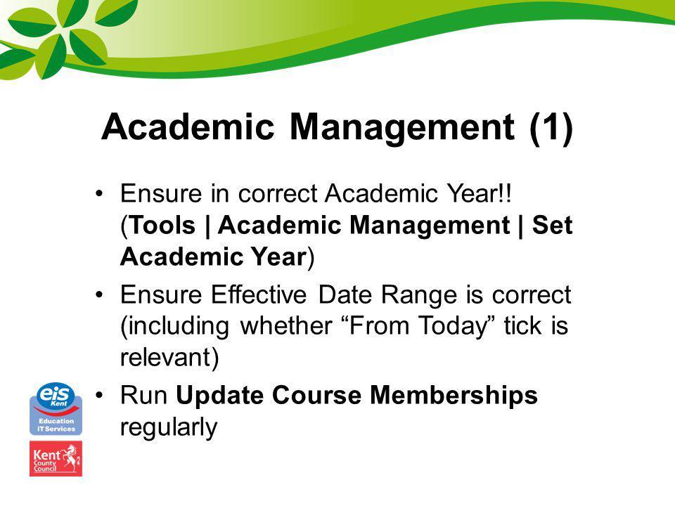 Academic Management (1)