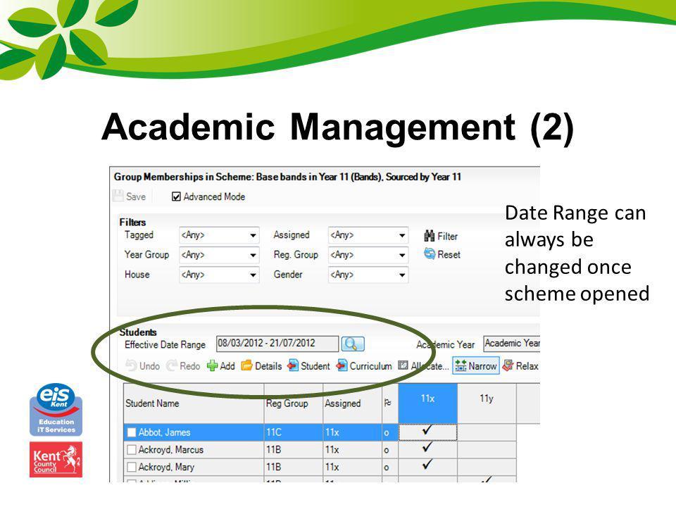 Academic Management (2)