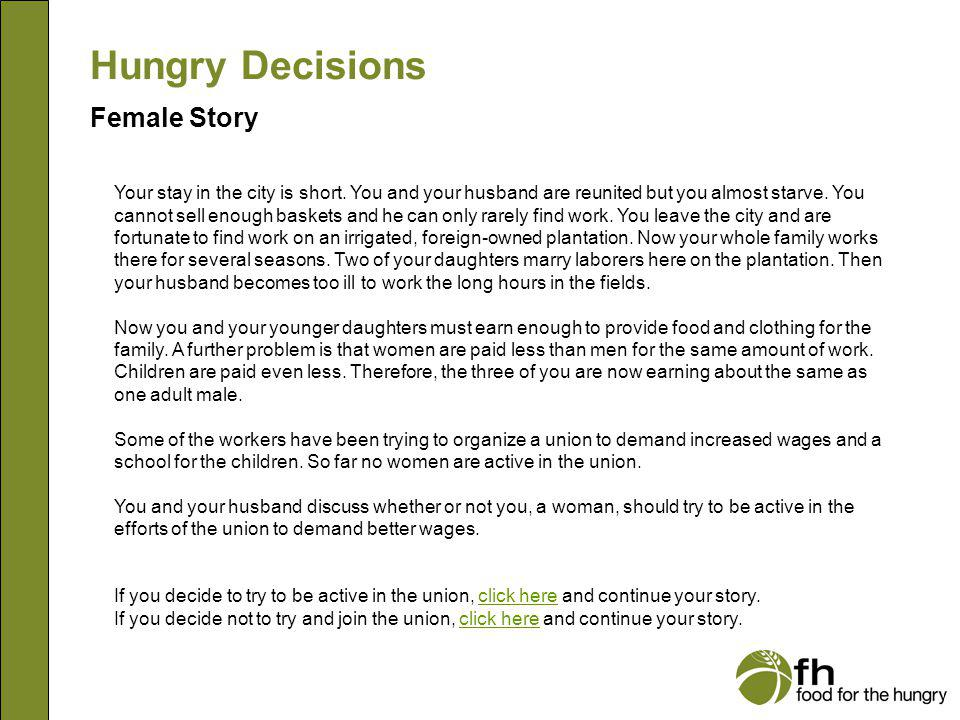 Hungry Decisions Female Story f10
