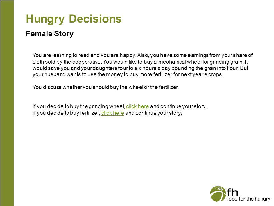Hungry Decisions Female Story f12