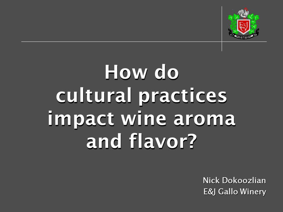 How do cultural practices impact wine aroma and flavor