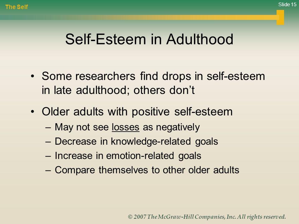 Self-Esteem in Adulthood