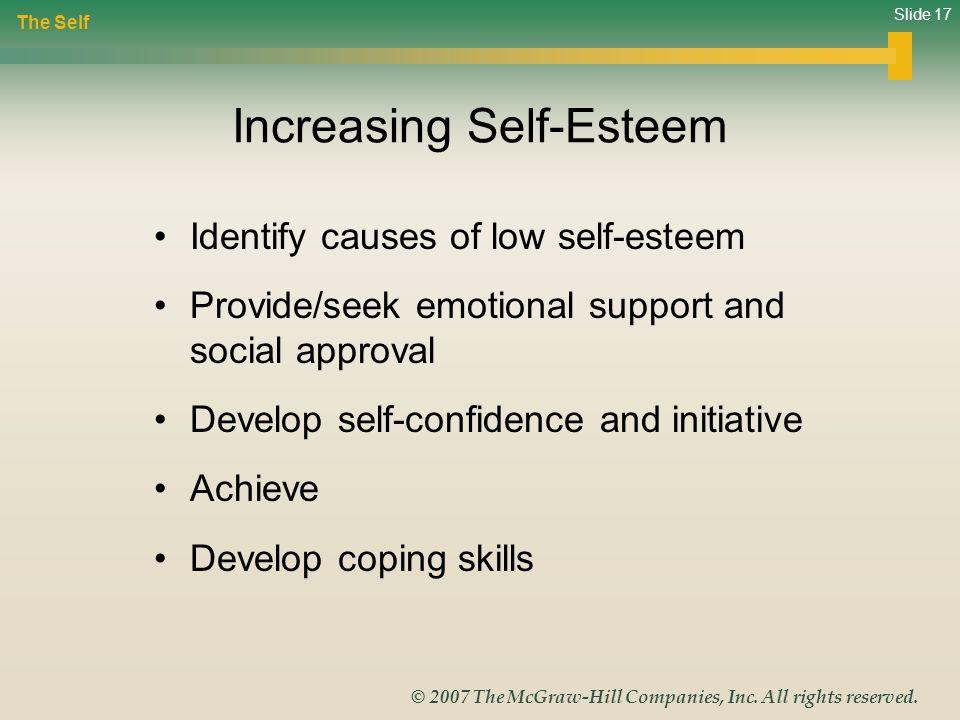 Increasing Self-Esteem