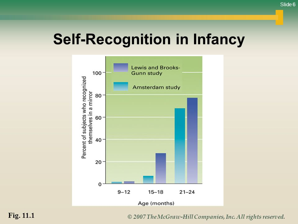 Self-Recognition in Infancy