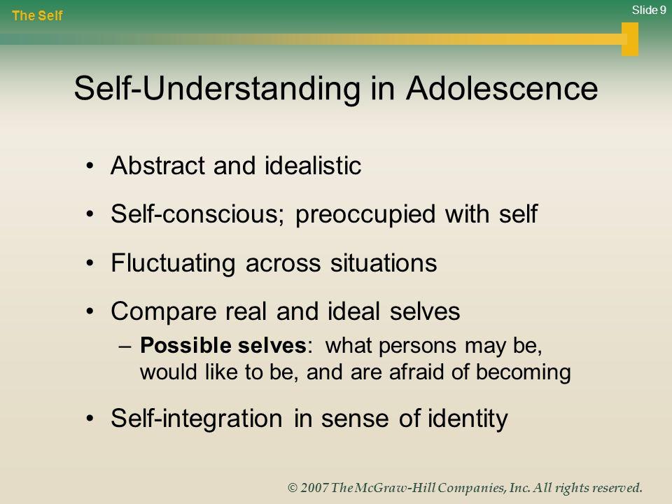 Self-Understanding in Adolescence