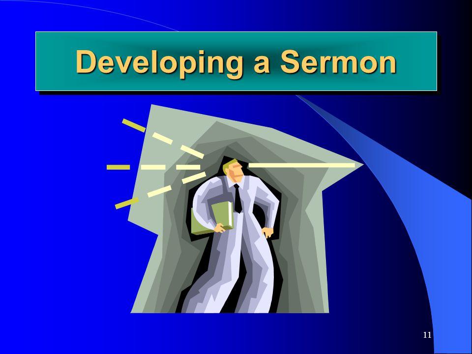 Developing a Sermon Joe Price