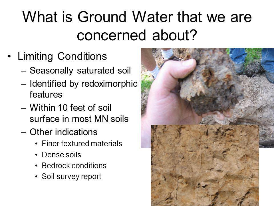 What is Ground Water that we are concerned about