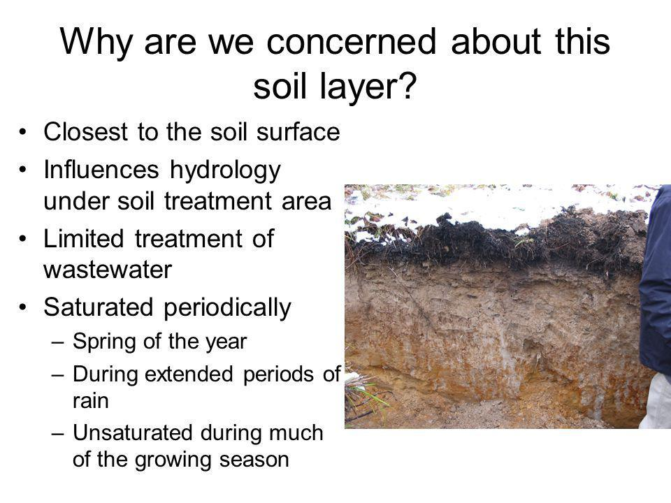 Why are we concerned about this soil layer