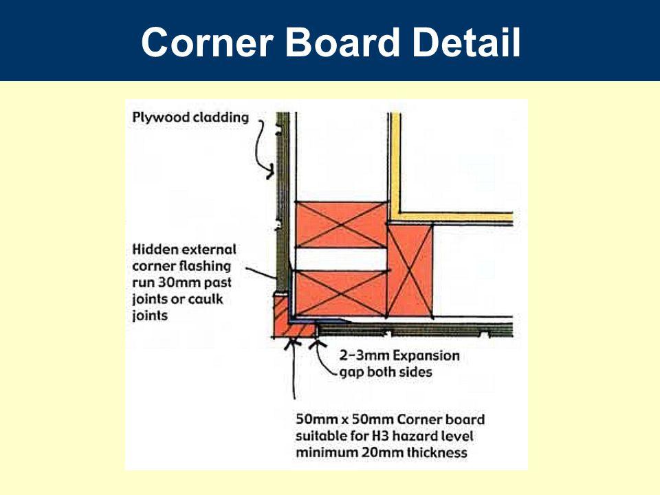 Corner Board Detail