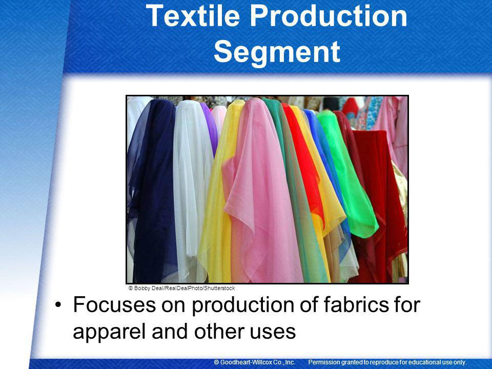 Textile Production Segment