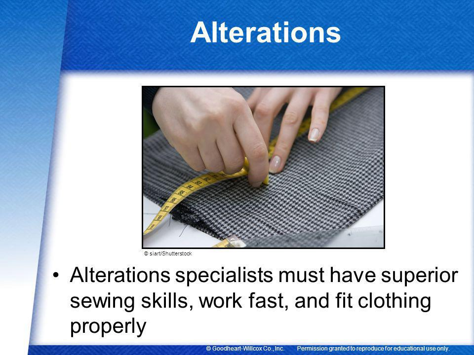 Alterations © siart/Shutterstock.