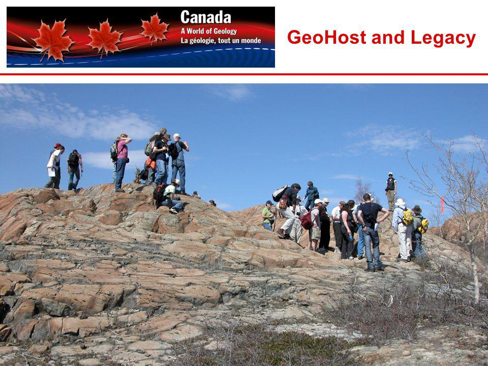 GeoHost and Legacy 20
