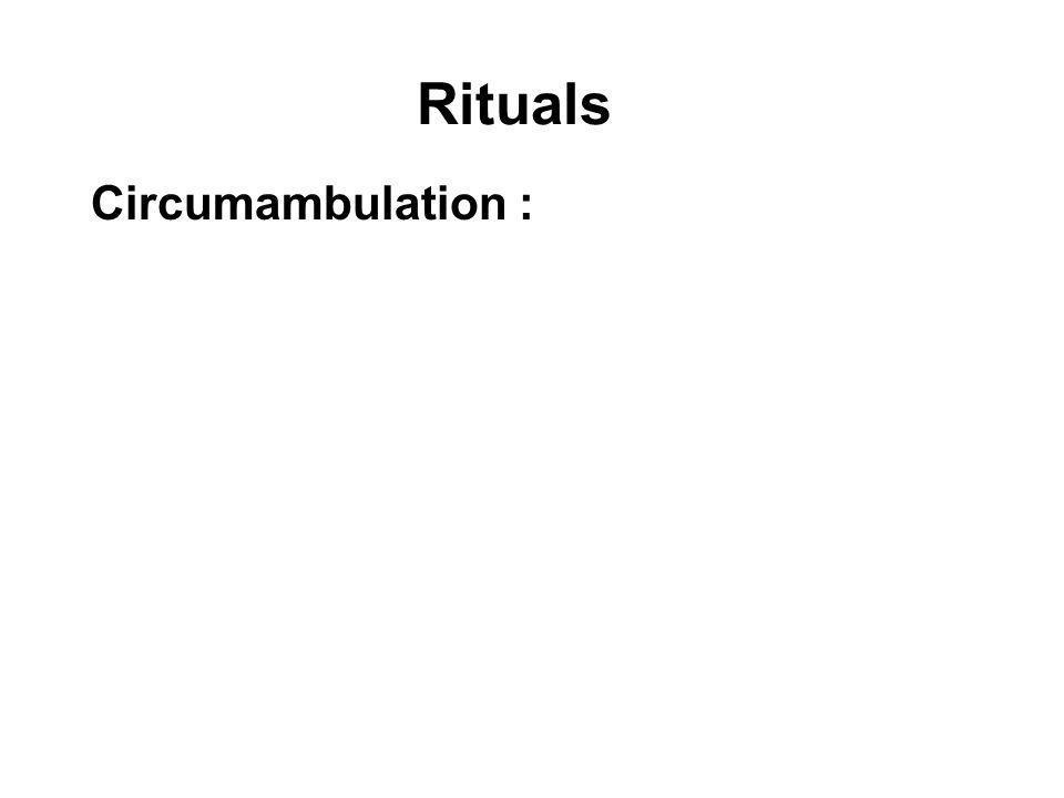Rituals Circumambulation :
