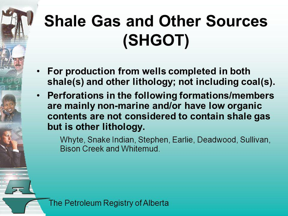 Shale Gas and Other Sources (SHGOT)