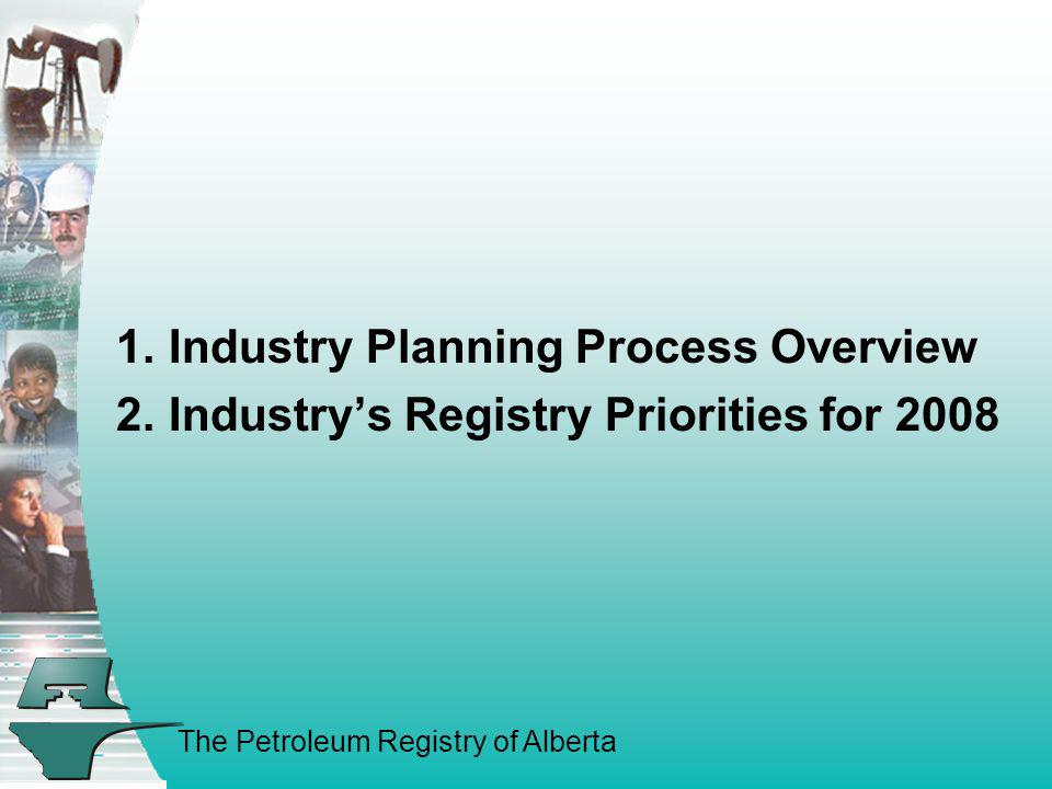 Industry Planning Process Overview