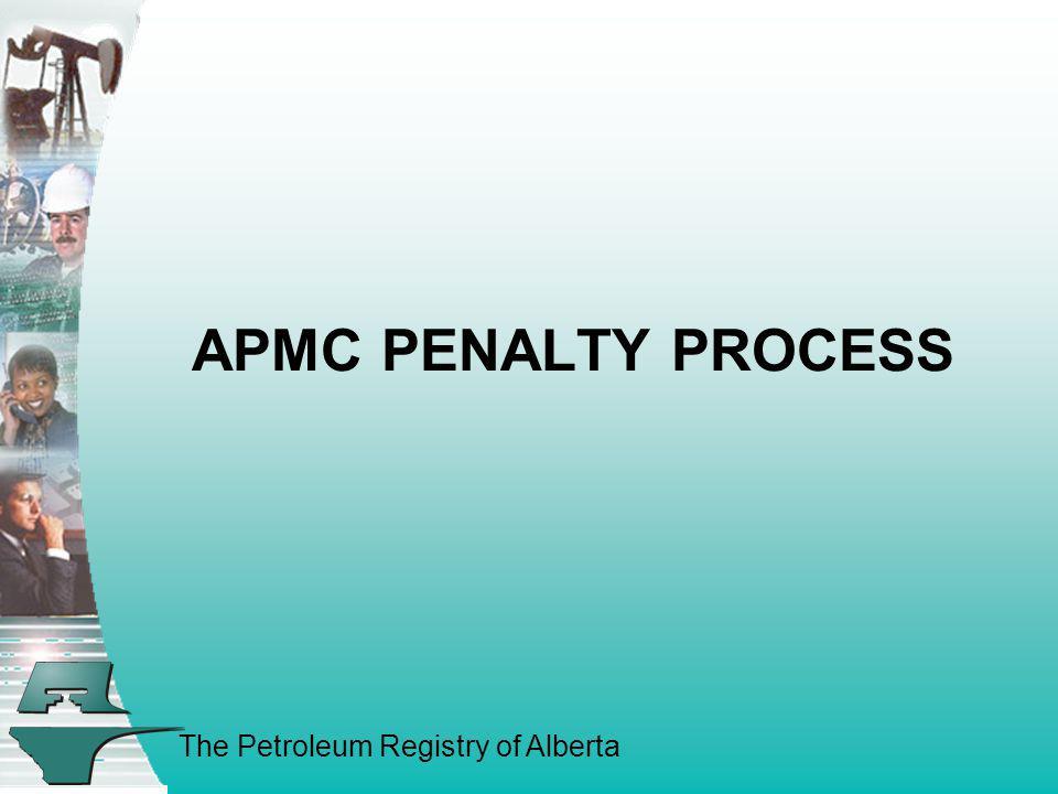 APMC PENALTY PROCESS