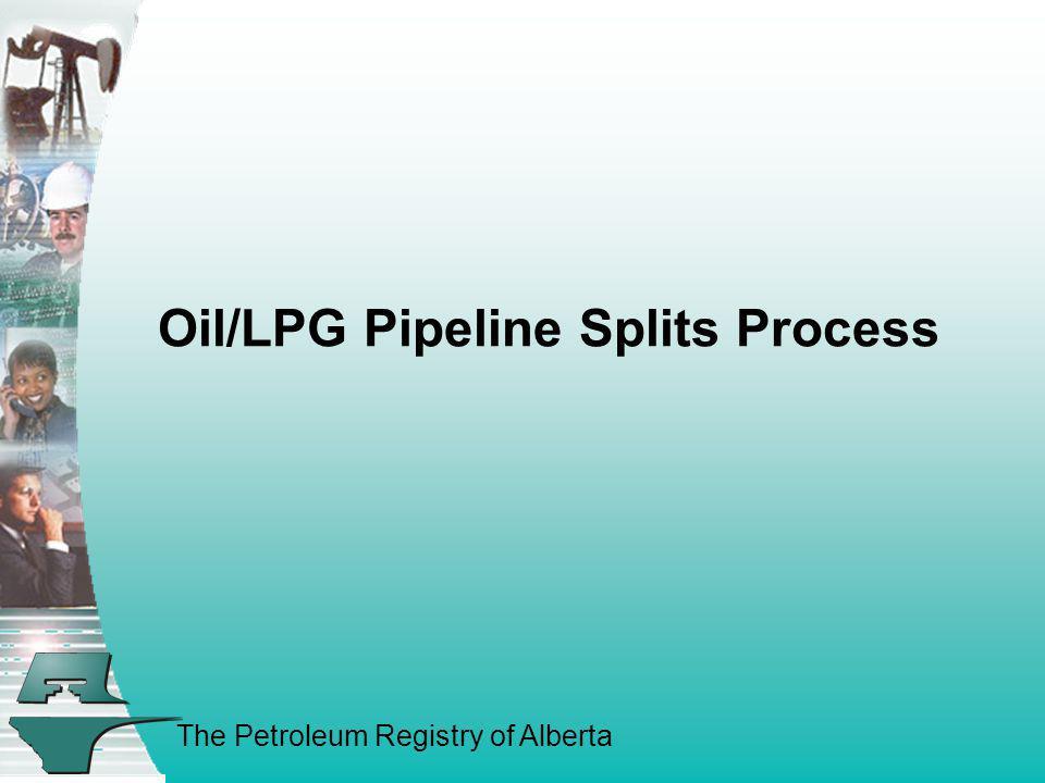 Oil/LPG Pipeline Splits Process
