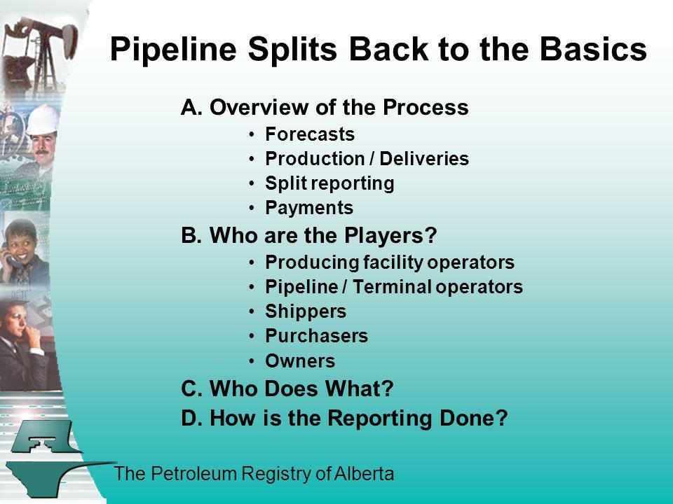 Pipeline Splits Back to the Basics